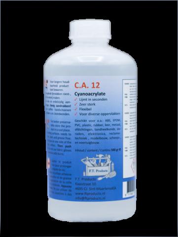 F.T. Products lijm CA12 500gram